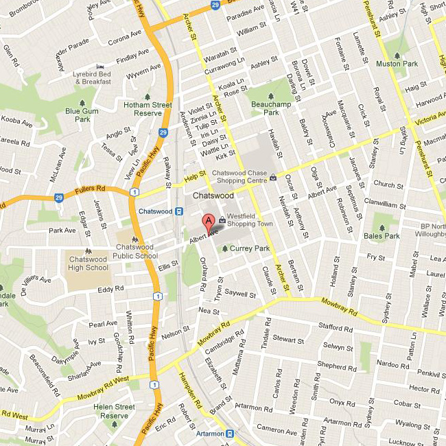 Chatswood_map