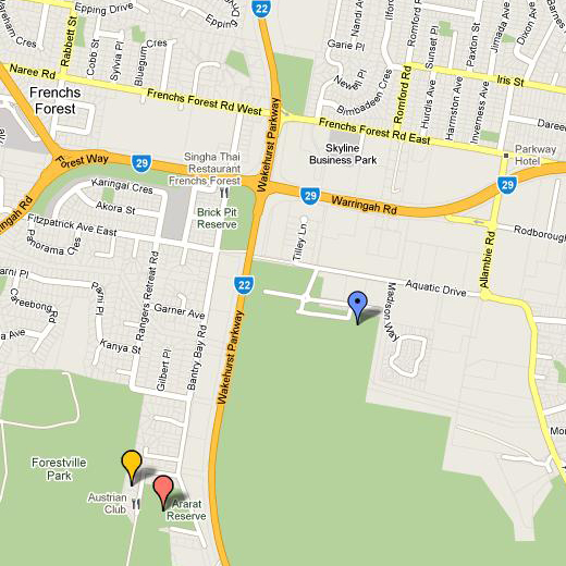 Frenchs Forest_map
