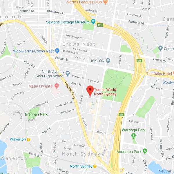 North Sydney - CBD_map