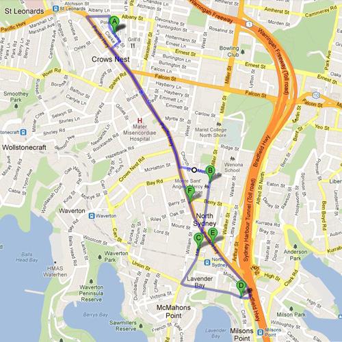 North Sydney - Indoor_map